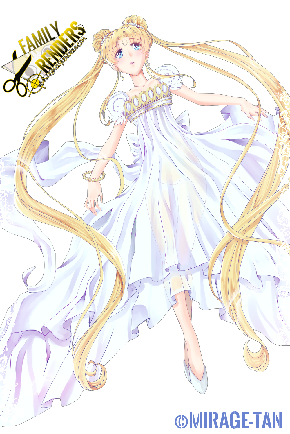 render Princess Serenity