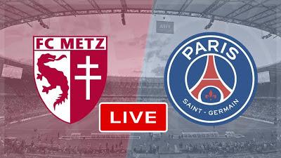 مشاهدة مباراة باريس سان جيرمان ضد ميتز 24-04-2021 بث مباشر في الدوري الفرنسي
