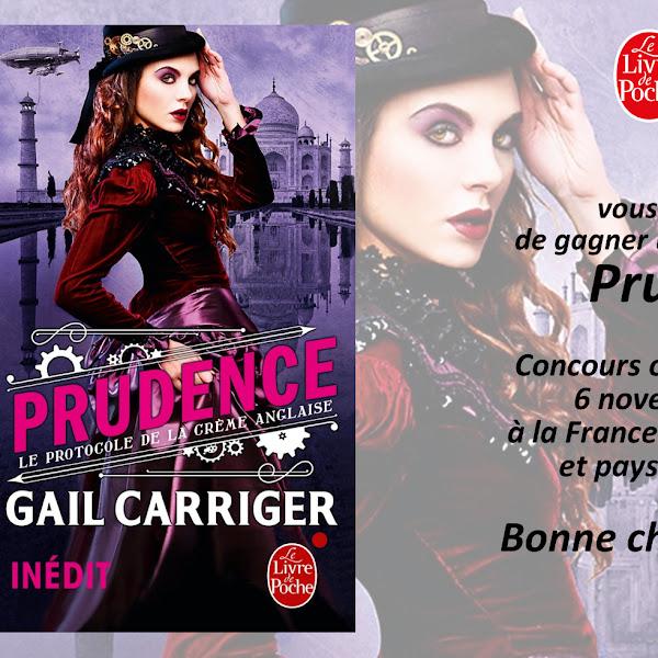 [Concours] Prudence tome 1 de Gail Carriger - Résultat