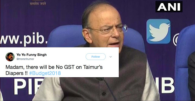 Budget2018: Its Taimurious - Baby Taimur Ali Khan Gets Trolled