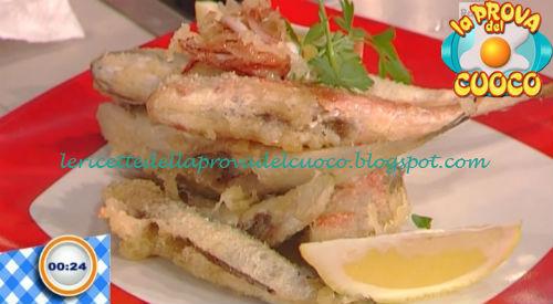 Tempura di paranza con patate al curry ricetta Bongiovanni da Prova del Cuoco