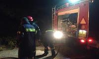 Τώρα: Φωτιά σε ξερά χόρτα κοντά στο πεδίο βολής στην Κόρινθο