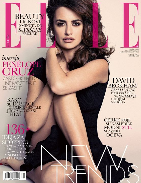Penelope Cruz in ELLE Serbia August 2012