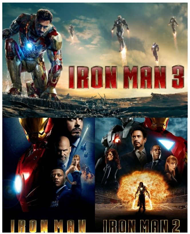 IRONMAN MOVIES (2008 - 2013) COLLECTION TAMIL DUBBED HD