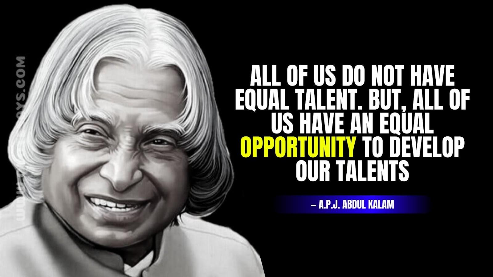 Apj Abdul Kalam Quotes About Education