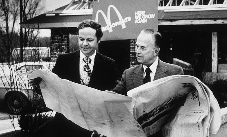 Historia de Ray Kroc y McDonald's