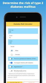 Determine the risk of type 2 diabetes mellitus