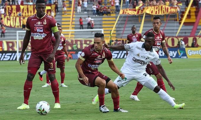 En un partido 'loco', DEPORTES TOLIMA no pudo frente al Deportivo Cali: Agridulce empate en el Murillo Toro