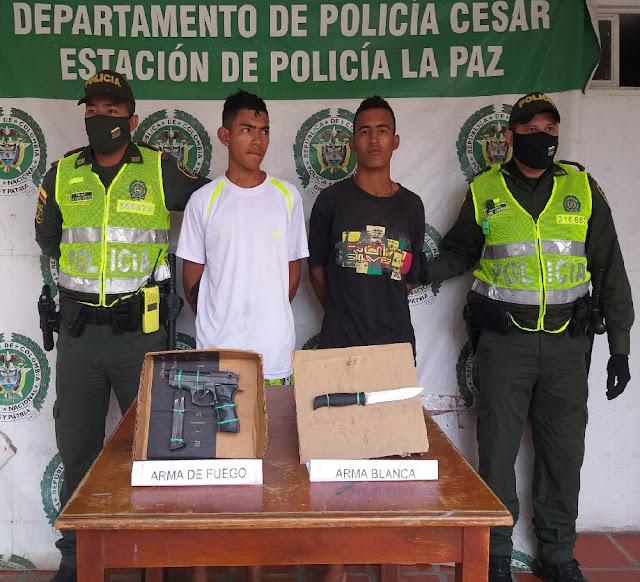 Atracaron a una mujer en La Paz con una pistola y un cuchillo