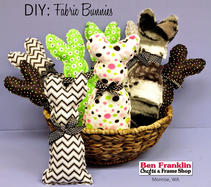 DIY Easy Easter Fabric Bunny