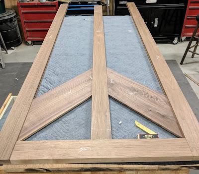 Building Barn Door