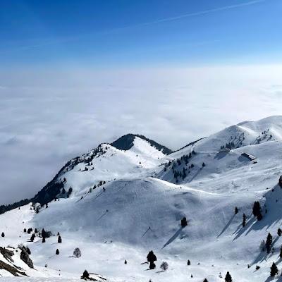 Inverno, montagna, e giri in moto