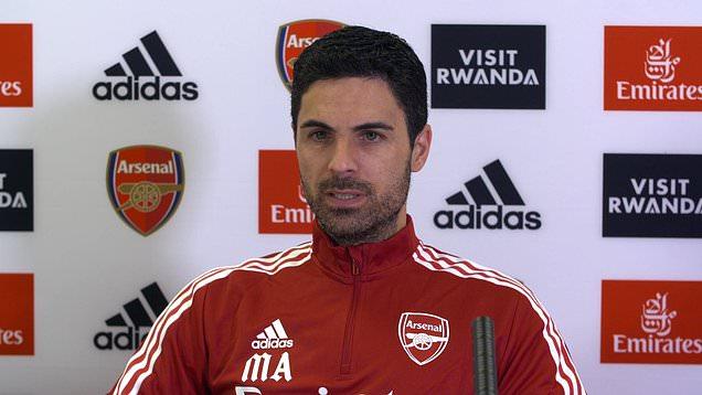 Gunners boss Mikel Arteta