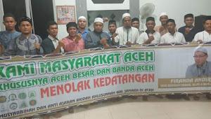 Dinilai Anti Aswaja, Firanda Ditolak Masyarakat Aceh