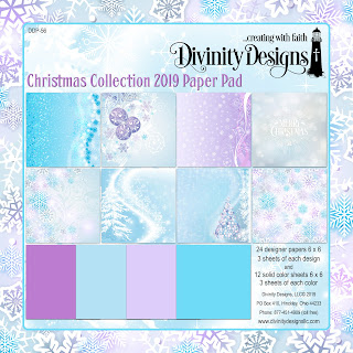 CHRISTMAS COLLECTION 2019 6X6 PAPER PAD