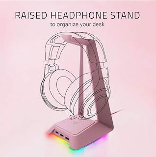 Razer Pink Headphone holder