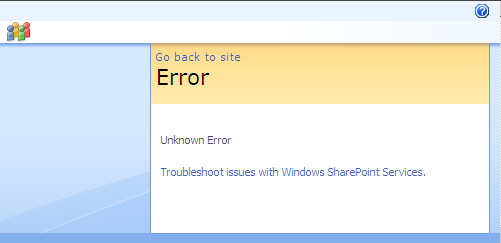 Disable Friedly Error Page in SharePoint 2007