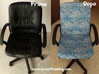 Come ricoprire una sedia d'ufficio fai da te