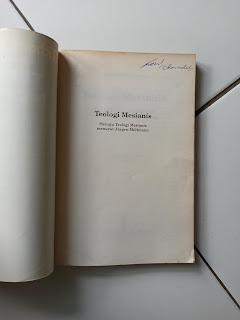 Teologi Mesianis Menuju Teologi Mesianis Menurut Jurgen Moltmann