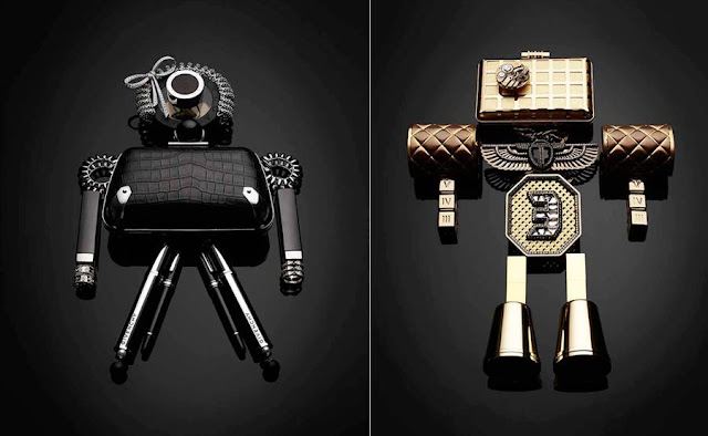 Fashion Robots by Maxime Poiblanc