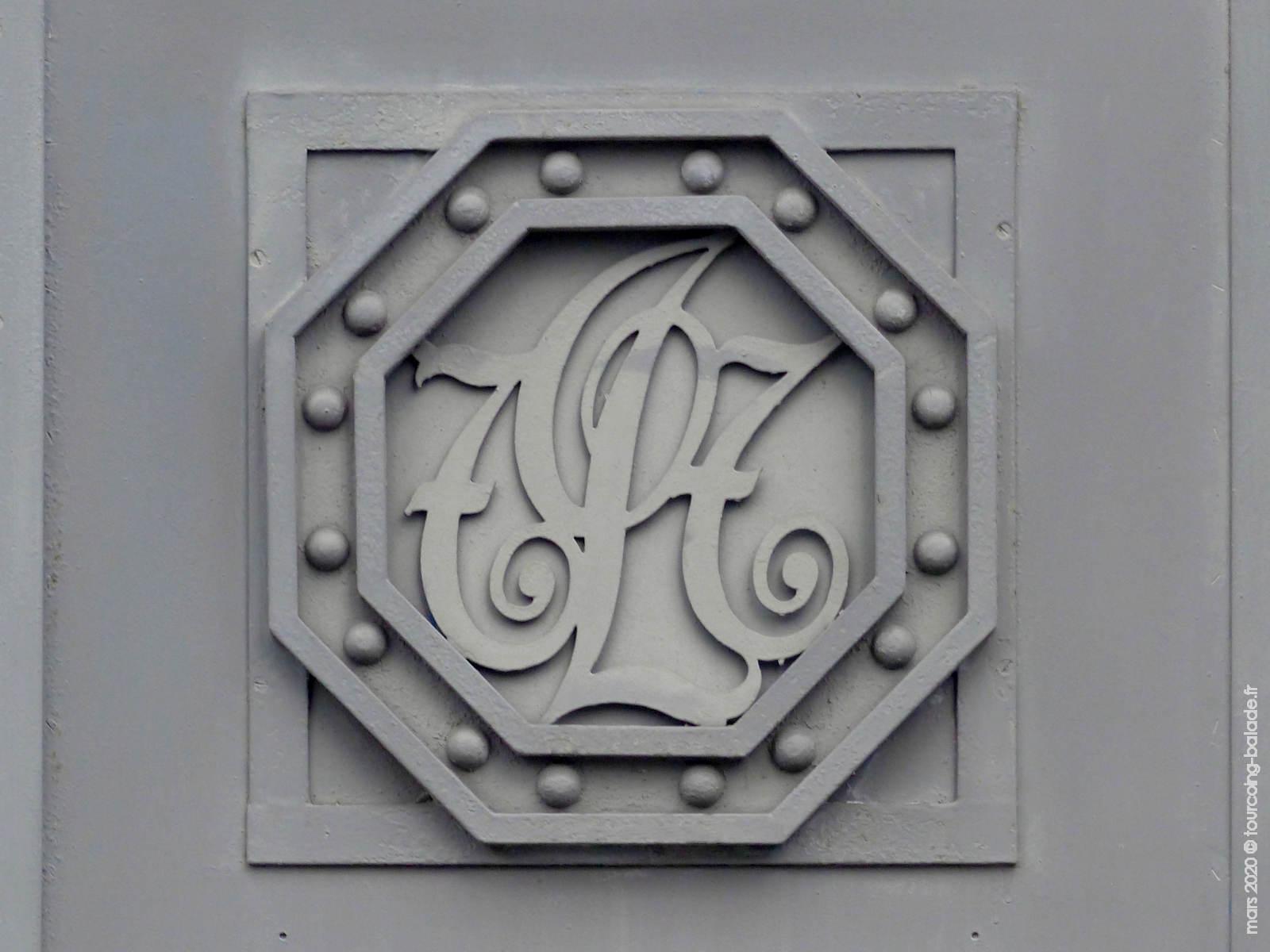 Décoration Art Déco fer forgé, ancienne Poste Tourcoing 2020