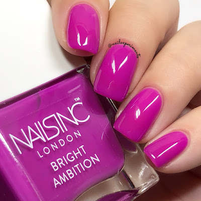 nails inc it's 12pm somewhere bright ambition summer 2018 swatches
