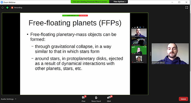 How free-floating planets are formed (Source: Przemek Mroz, Exoplanets Demographics 2020 meeting)