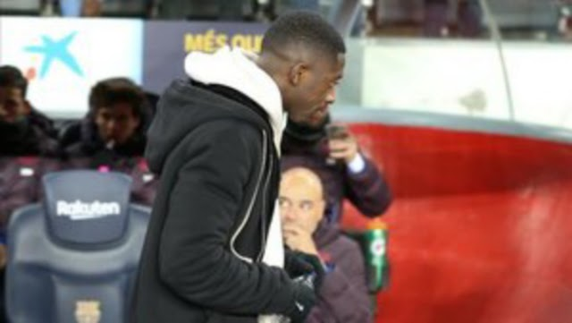 Ousmane Dembele returns to Camp Nou for Setien bow