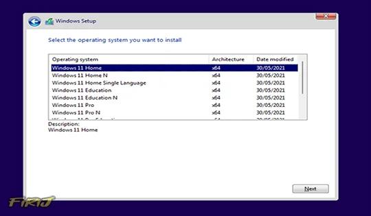 liste des éditions de Windows 11