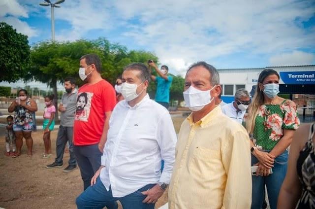 Deputado Alex da Piatã visita Itapicuru e espera concluir projeto para dar de presente ao município