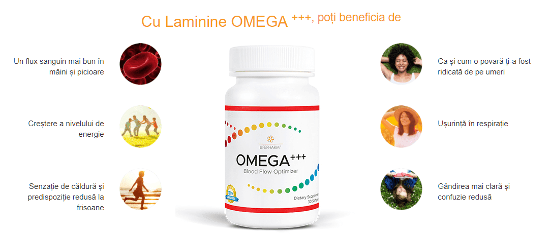Laminine Omega - Beneficii