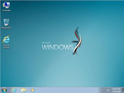 Tampilan Dekstop Windows 7 by Khatmau_Sr