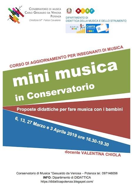 conservatorio musica potenza, didattica, valentina chiola