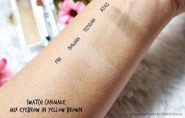 Canmake Mix Eyebrow in Yellow Brown
