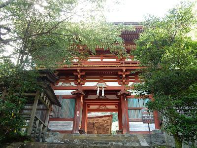吉野山:吉野水分神社楼門