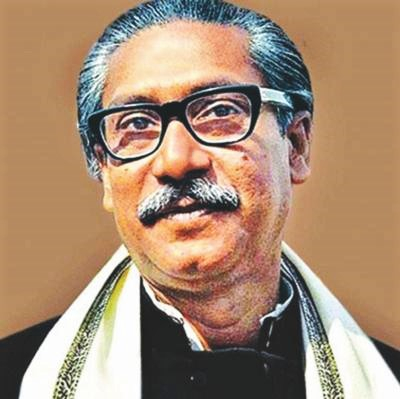 The first President of Bangladesh and the father of the Bengali nation.