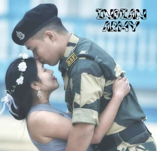 indian army couple images