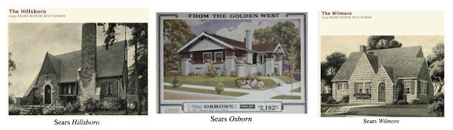 catalog images of Sears Hillsboro, Sears Osborn, Sears Wilmore