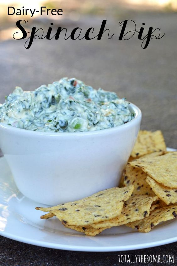 DAIRY-FREE SPINACH DIP