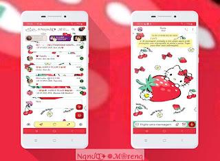Hello Kitty Theme For YOWhatsApp & Fouad WhatsApp By Nanda