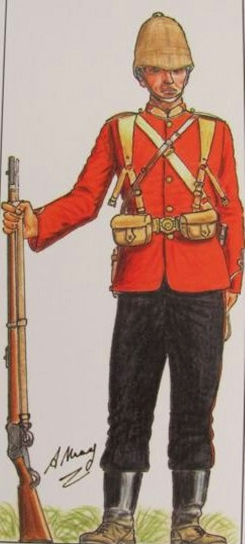 2nd Battalion, 3rd (East Kent Regiment) (The Buffs) Regiment of Foot picture 2