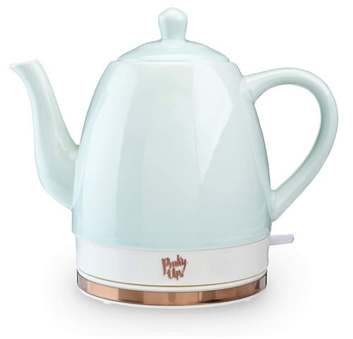 Pinky Up Ceramic Electric Tea Kettle
