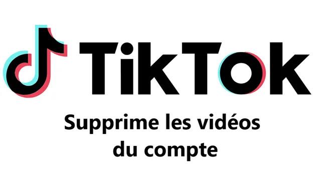 Comment supprimer des vidéos TikTok de votre compte?