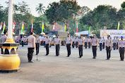 Kapolres Pandeglang Pimpin Upacara Kenaikan Pangkat 60 Personel, Periode 1 Juli 2020