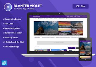 Blanter Violet Theme