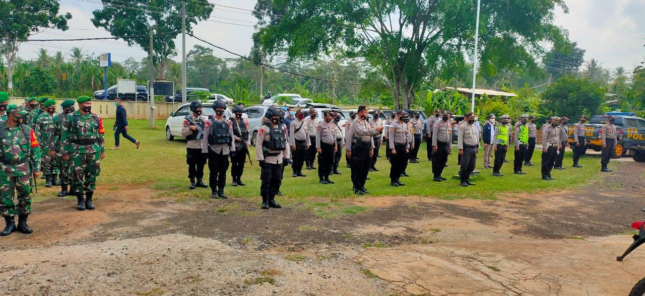 Kompi Brimob Lampung Timur Laksanakan Apel Siaga Pengamanan Unras