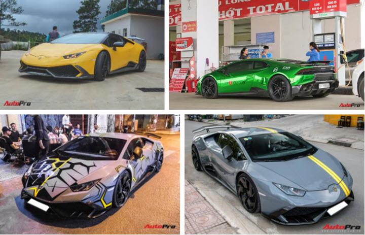Lamborghini Huracan đổi màu nhiều nhất Việt Nam, cư dân mạng ví 'màu như khẩu trang y tế' - Ảnh 3.