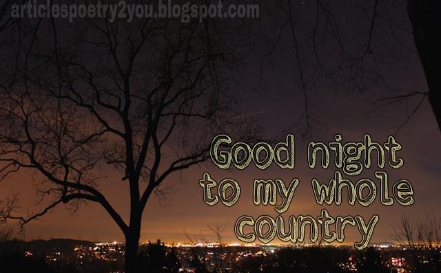 Good night blessings | lovely good night