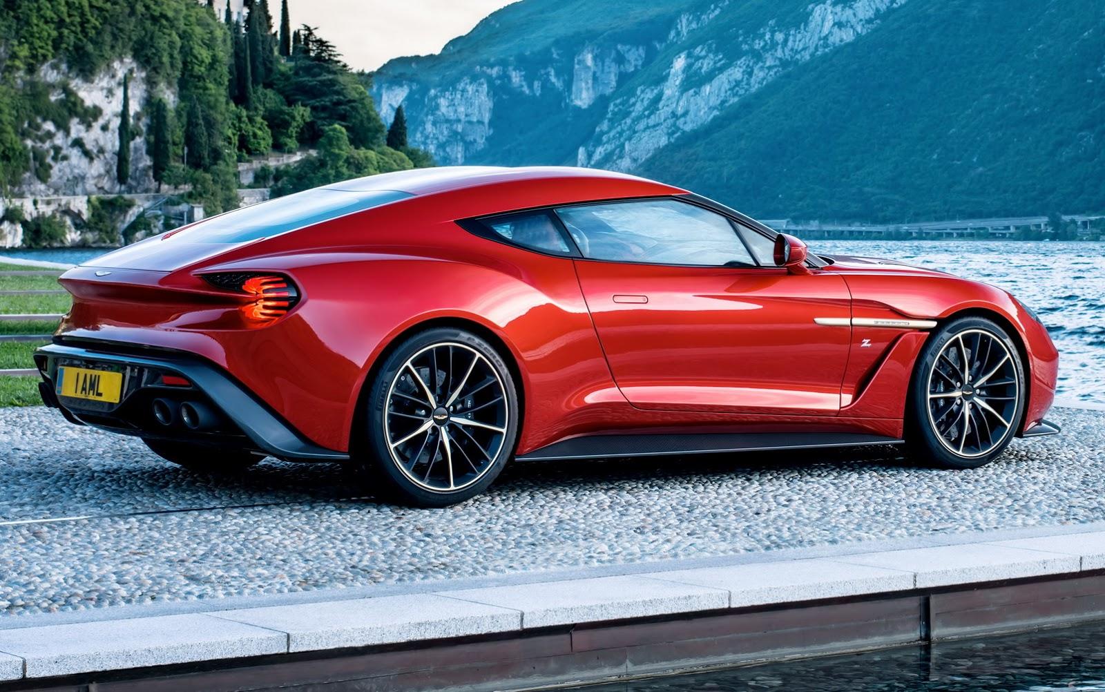 Weird Hd Wallpaper Cars Aston Martin S New Limited Production Vanquish Zagato