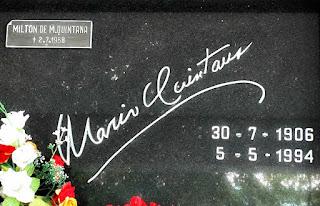 Mário Quintana - Cemitério São Miguel e Almas